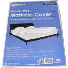 King Size Plastic Vinyl Waterproof Mattress Cover Protector